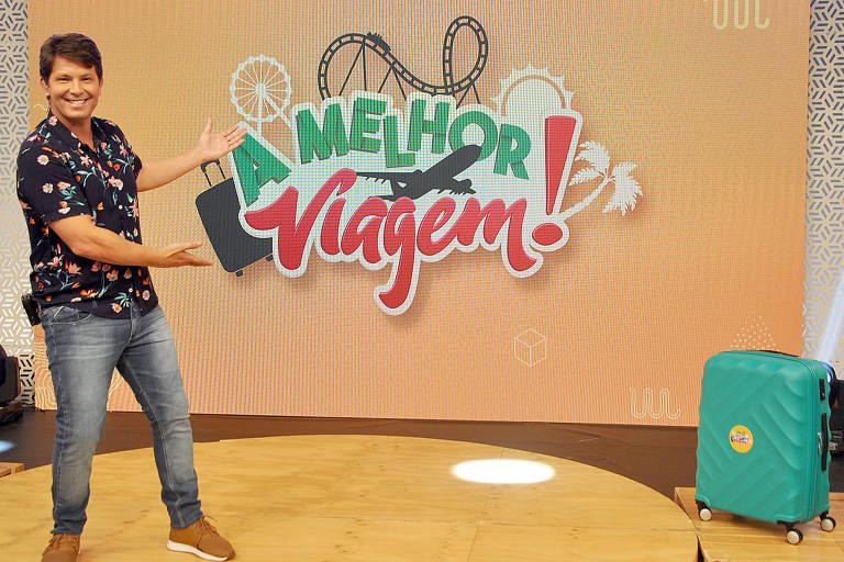 A melhor viagem: Atualmente, Mário é apresentador do programa dominical da RedeTV