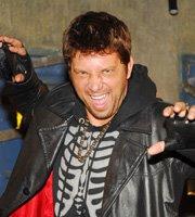 Os Mutantes: Na estreia na emissora Record, Mário interpretou o vampiro Drácula