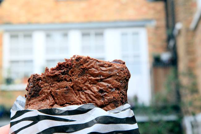 Brownies de Londres: o Lili Vanilli em East London