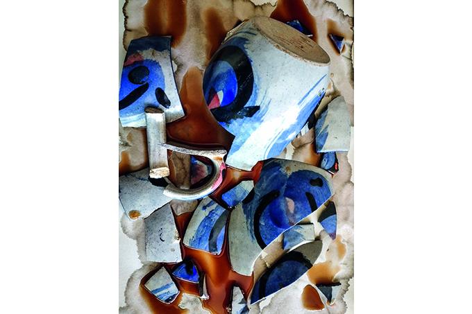 Luiz Aquila: de uma xícara quebrada, fez-se arte