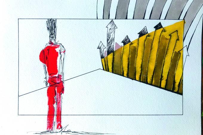 Arte postal: obra de Carlos Vergara e José Bechara