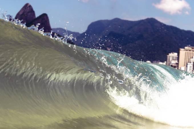 Rio boas ondas