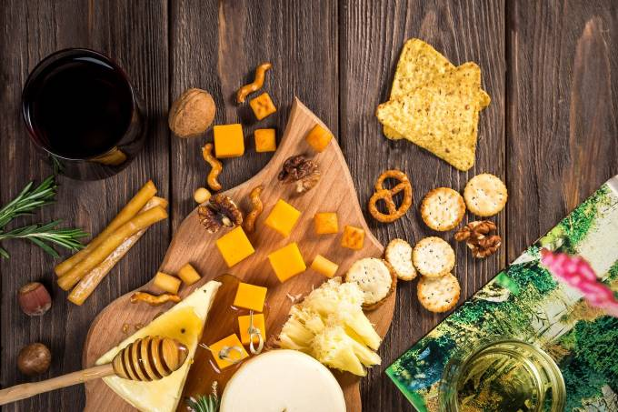 queijo e vinho