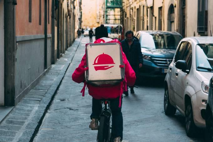 Entregador delivery