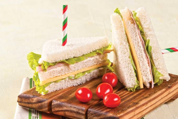 torre de sanduíche