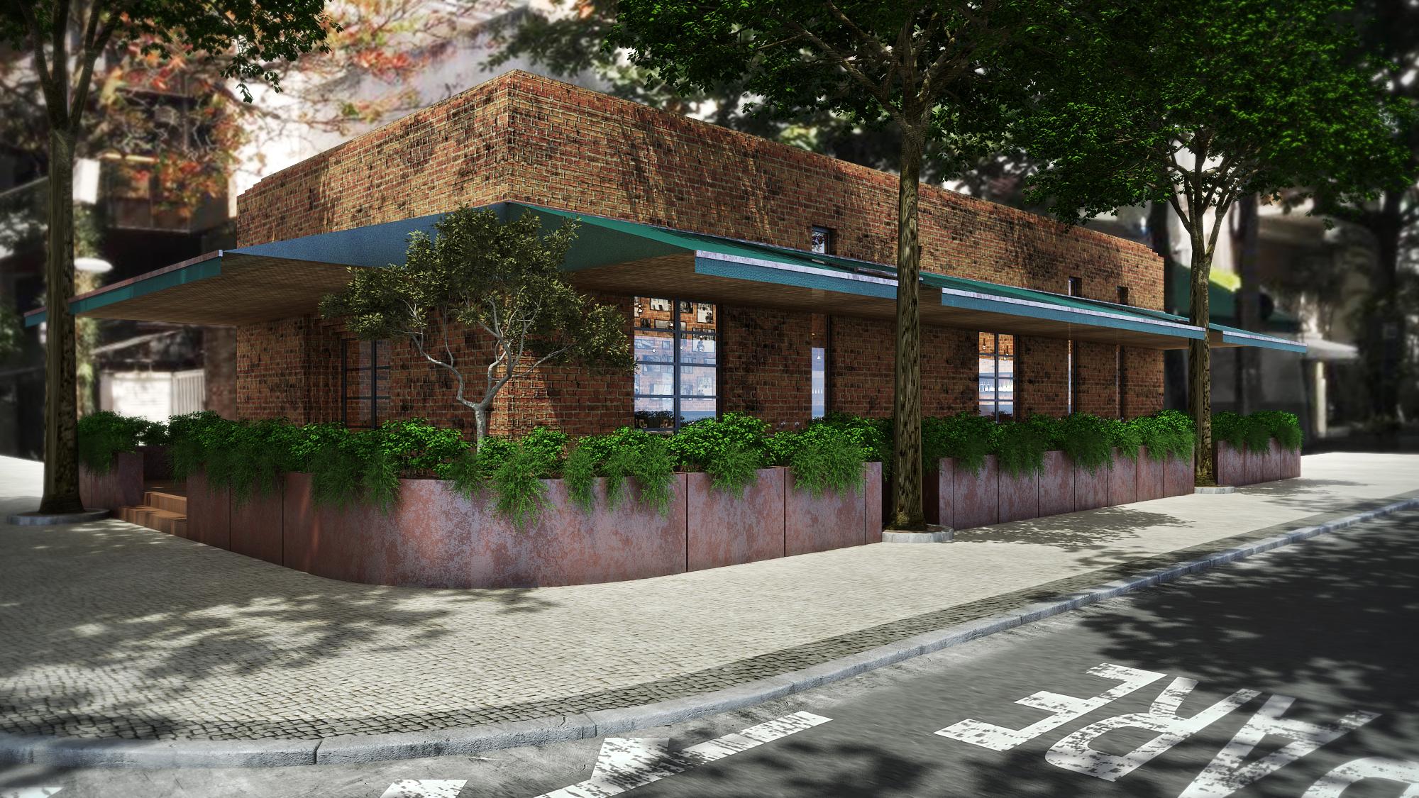 A fachada do Gero Panini: inauguração será em outubro