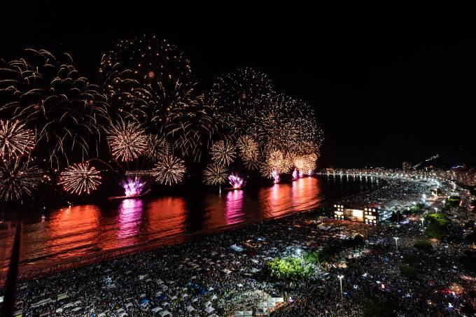 Réveillon Praia de Copacabana
