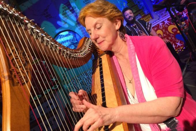 Patrice Fisher harpista