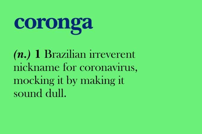coronga greengo dictionary