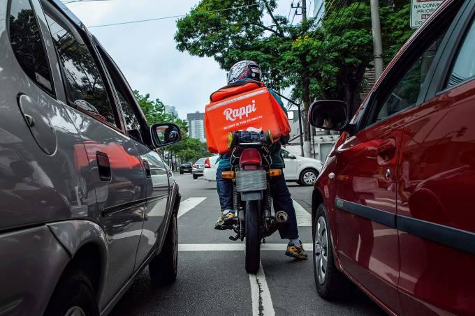 Motoqueiros/Aplicativos de delivery