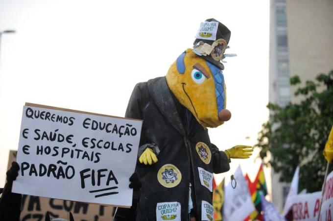 protestos 2014