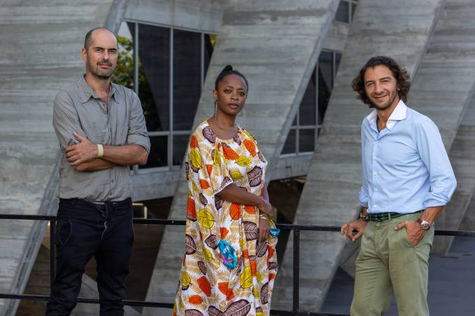 MAM Rio – Pablo Lafuente, Keina Eleison e Fabio Szwarcwald – Foto Fabio Souza