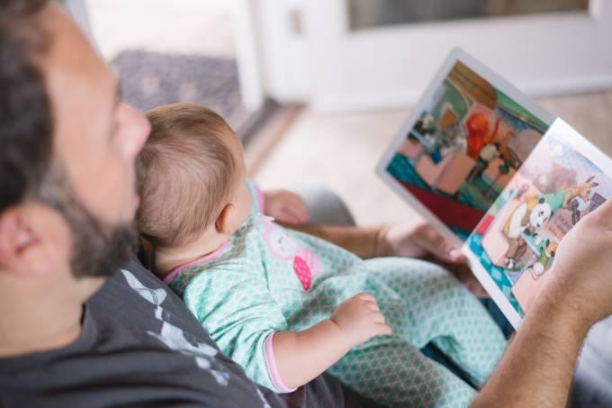 leitura livro dia dos pais