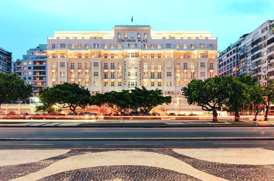 Copacabana Palace: diária de trinta horas é novidade
