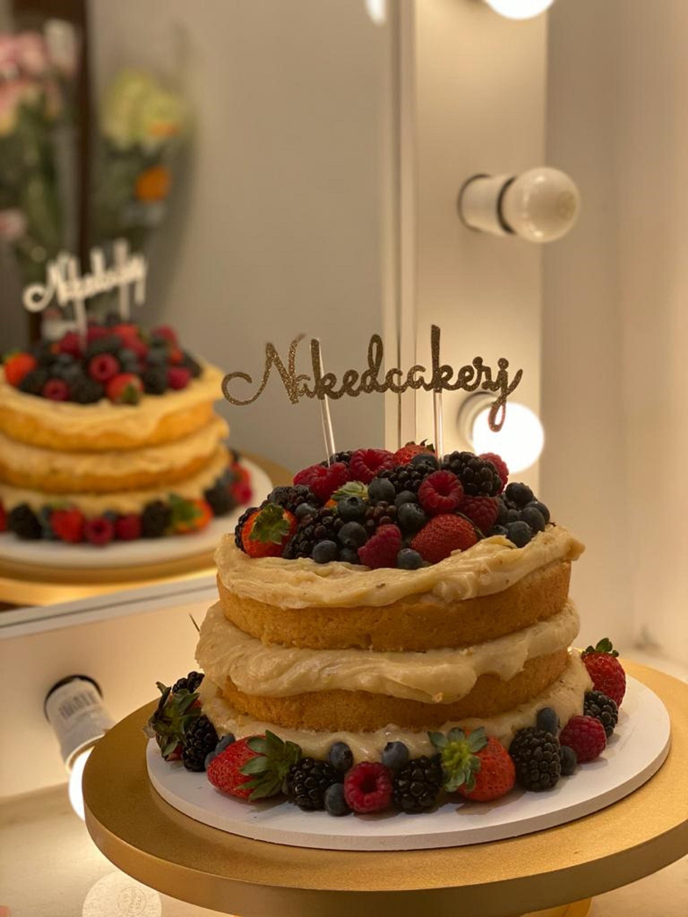 Naked Cake: Receita Especial para caprichar