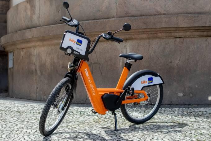 bicicleta elétrica itaú