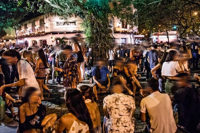 Dias Ferreira – balada de rua – RJ 2020Credito: Leo Lemos