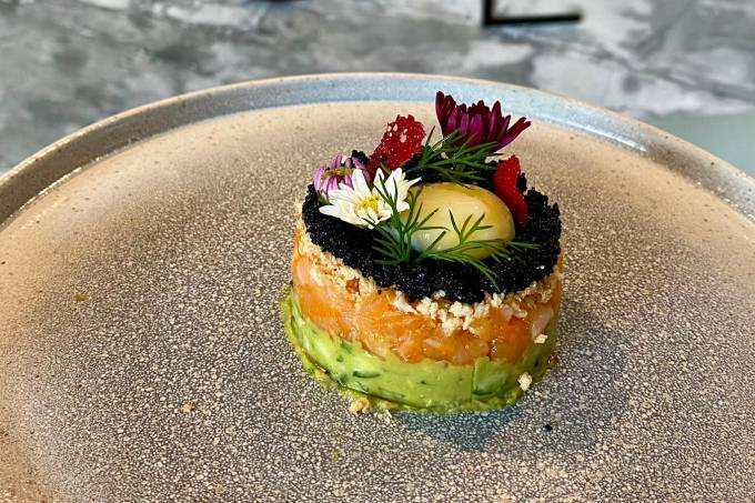 Kitchen – Tartare de salmão – Divulgação