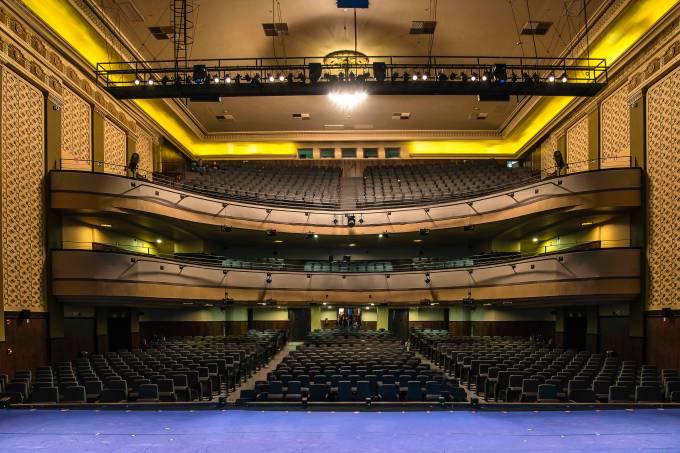 Teatro Riachuelo – Plateia – Foto Caio Gallucci