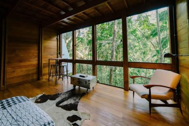 Top casas Airbnb Brasil: que tal uma casa na floresta