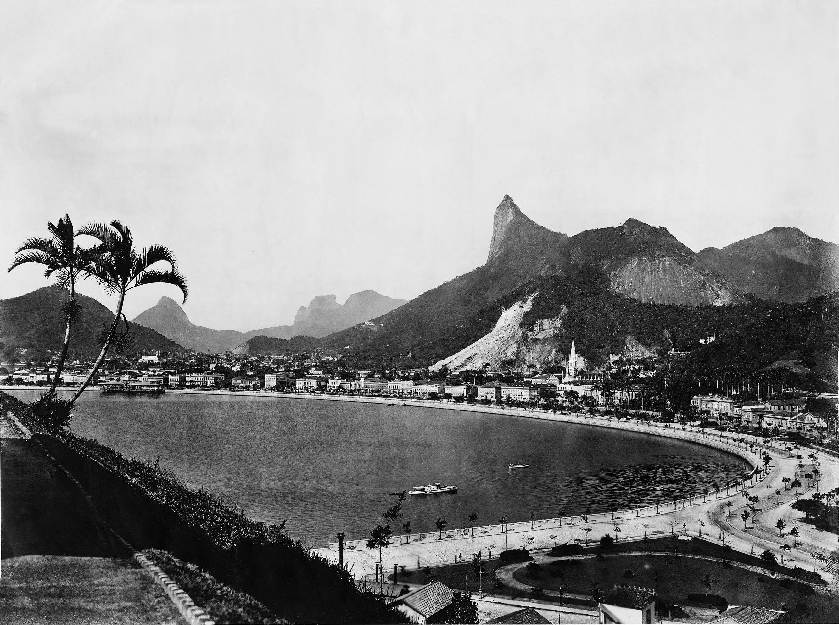 Enseada de Botafogo: essa vista seria retratada constantemente nas décadas posteriores