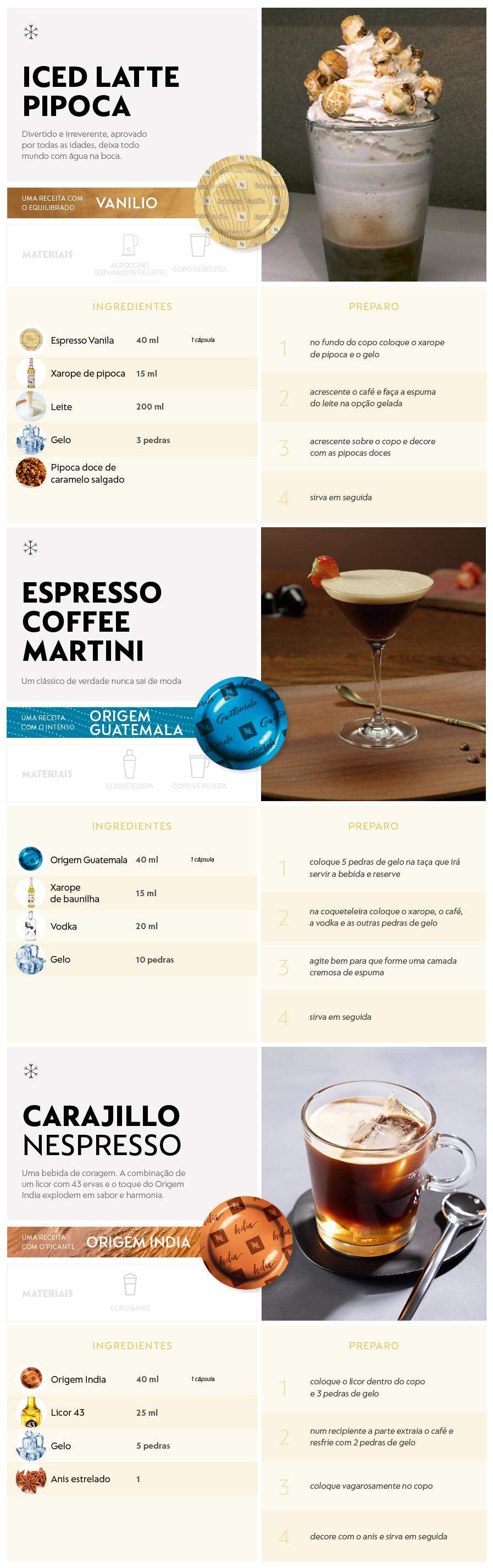 Receitas Nespresso