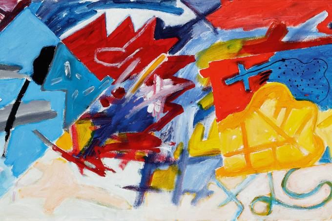 CRM – Luiz Aquila, A Pintura e o título escondido, 2020 – Foto Jaime Acioli