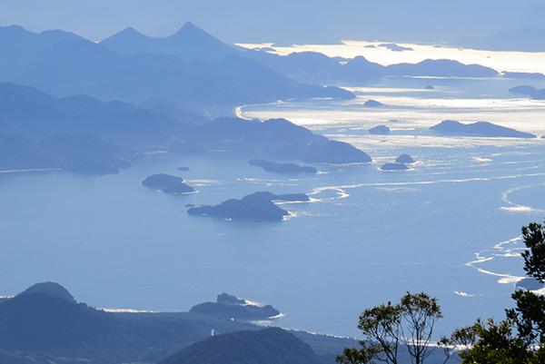 A vista para quem chega até o Pico da Macela: esforço retribuído