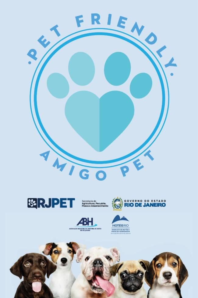 Amigo pet: chancela aos estabelecimentos que recebem os animais