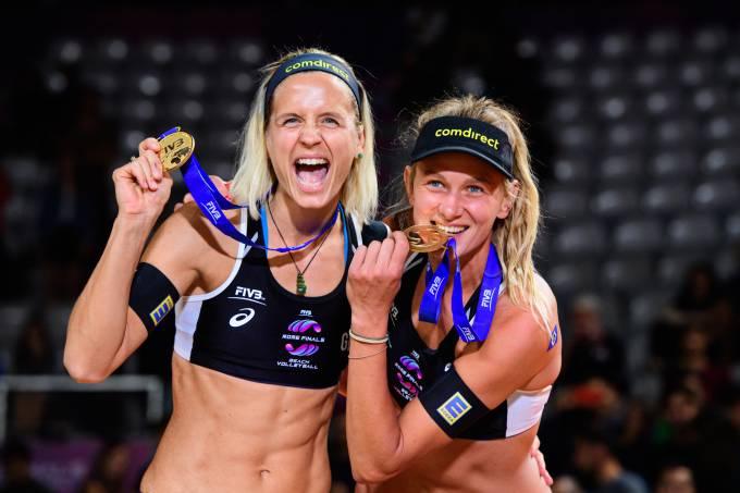 Laura LUdwig e Kozuch _ divulgação FIVB