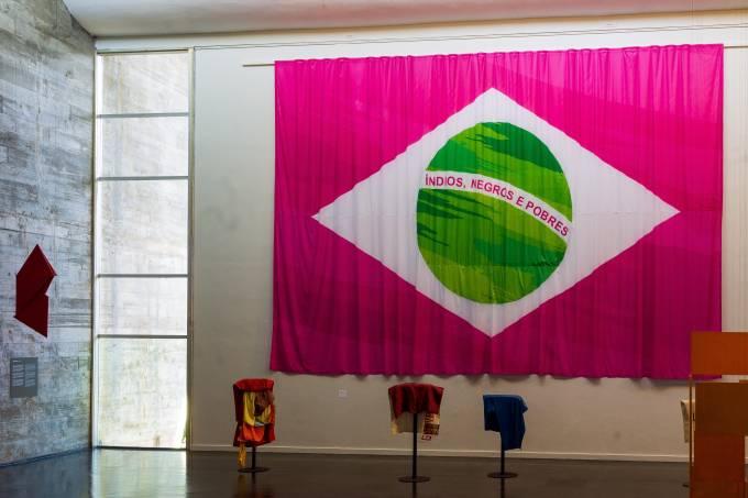 MAM Rio_Instalação da Bandeira da Mangueira(2)_Foto Fabio Souza