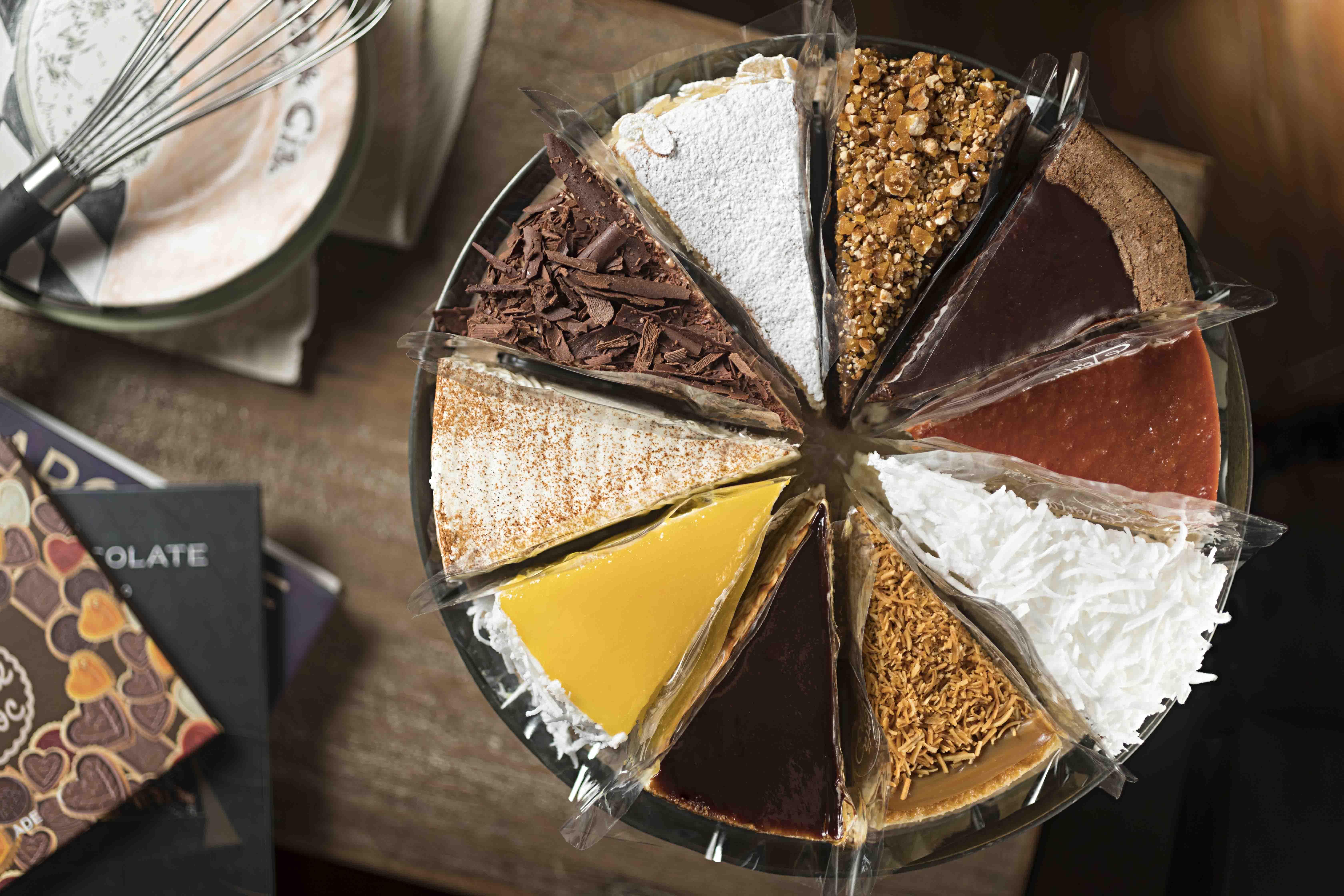 torta com dez sabores
