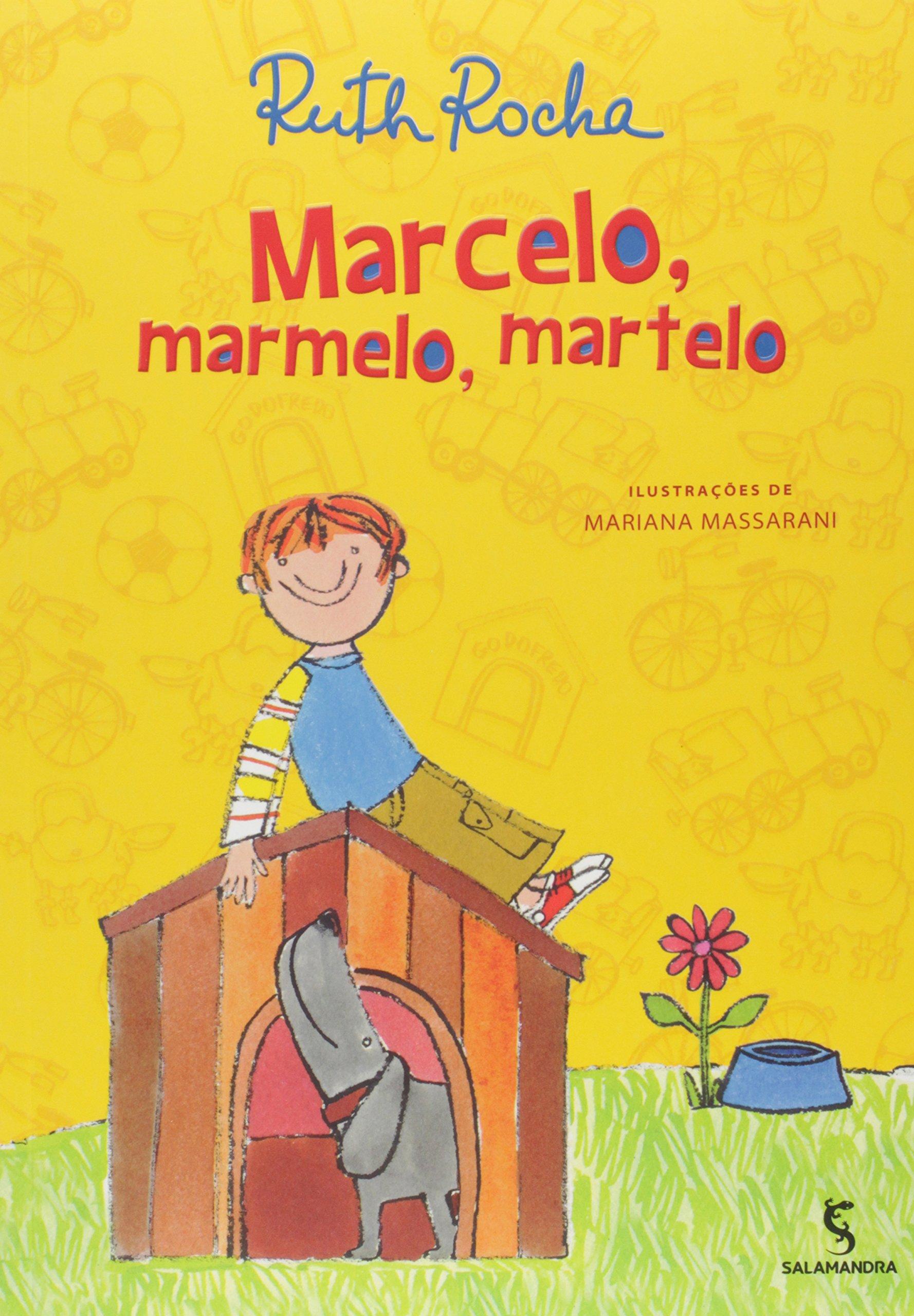 Capa do livro traz ilustração de um menino em cima de uma casinha de cachorro