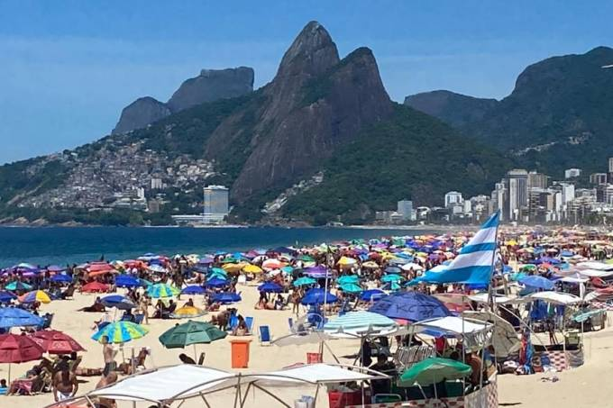 praia ipanema sol