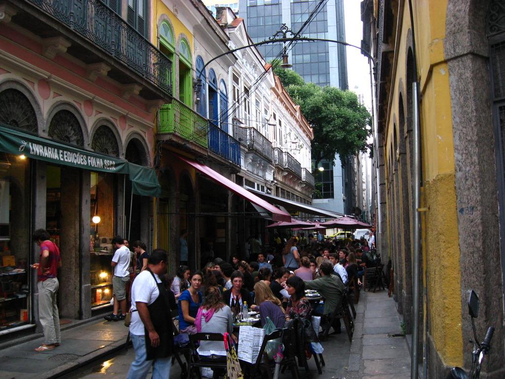 Restaurantes de rua