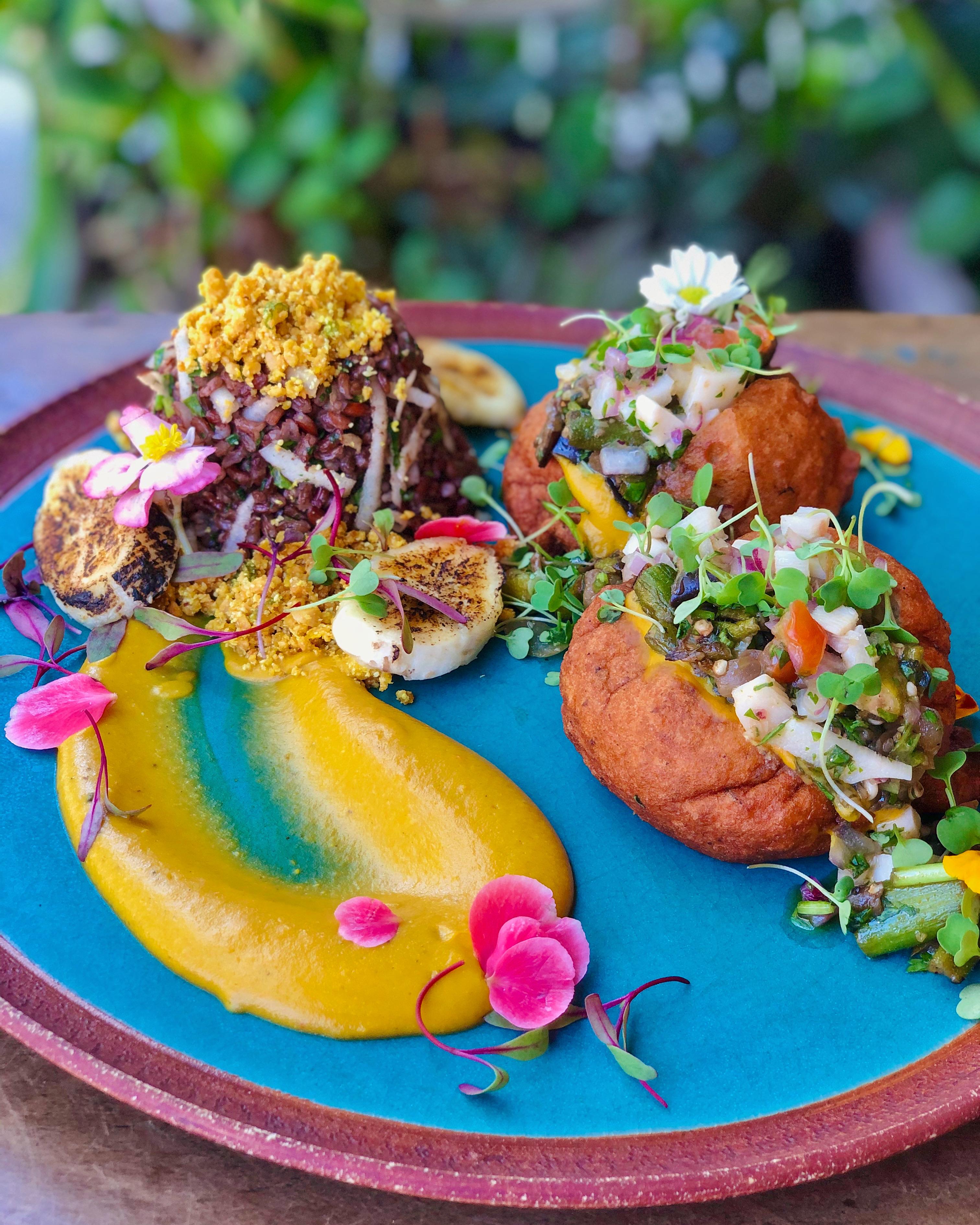 acarajé vegetariano