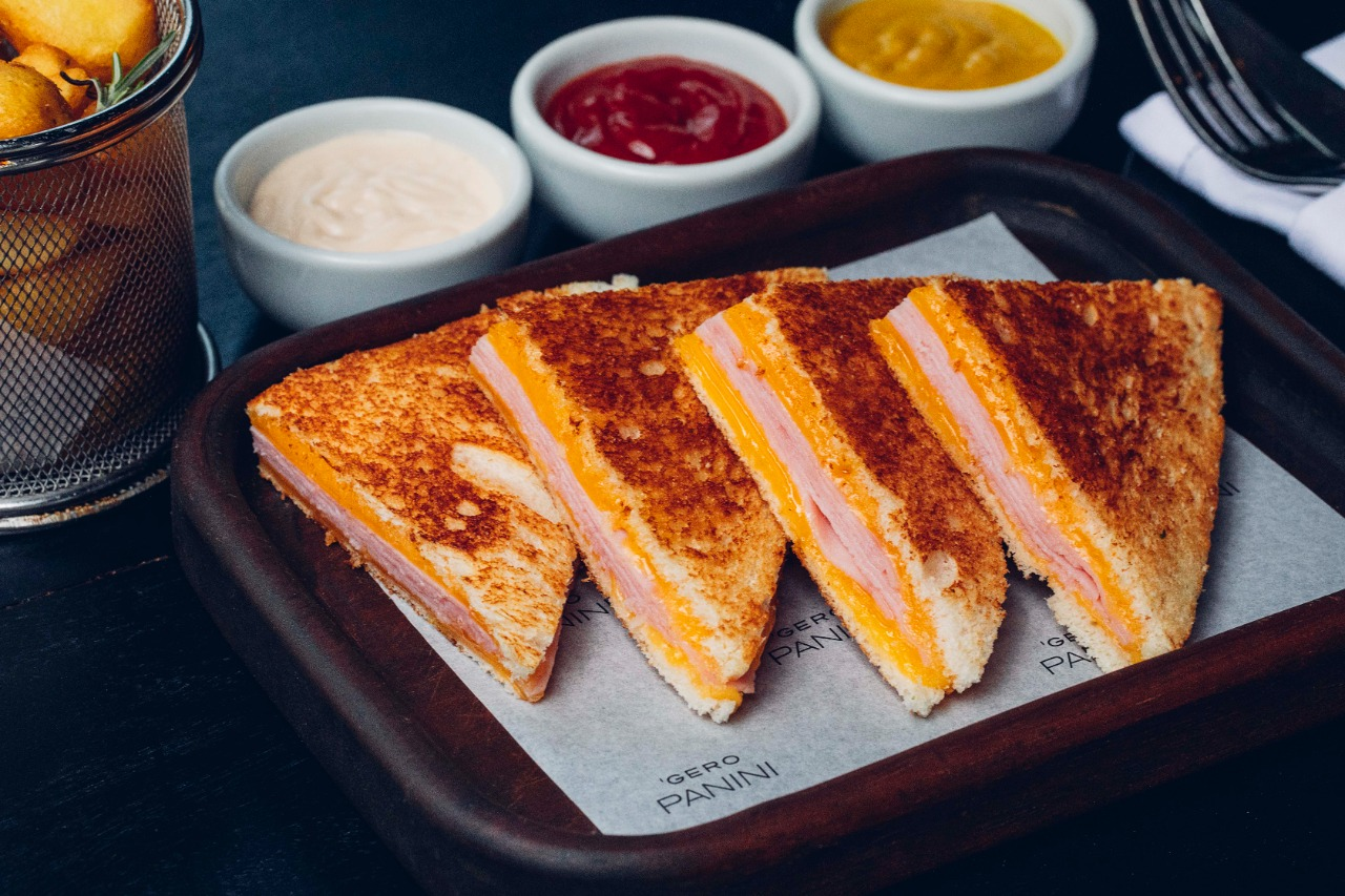 Gero Panini: toast clássico, o famoso misto-quente
