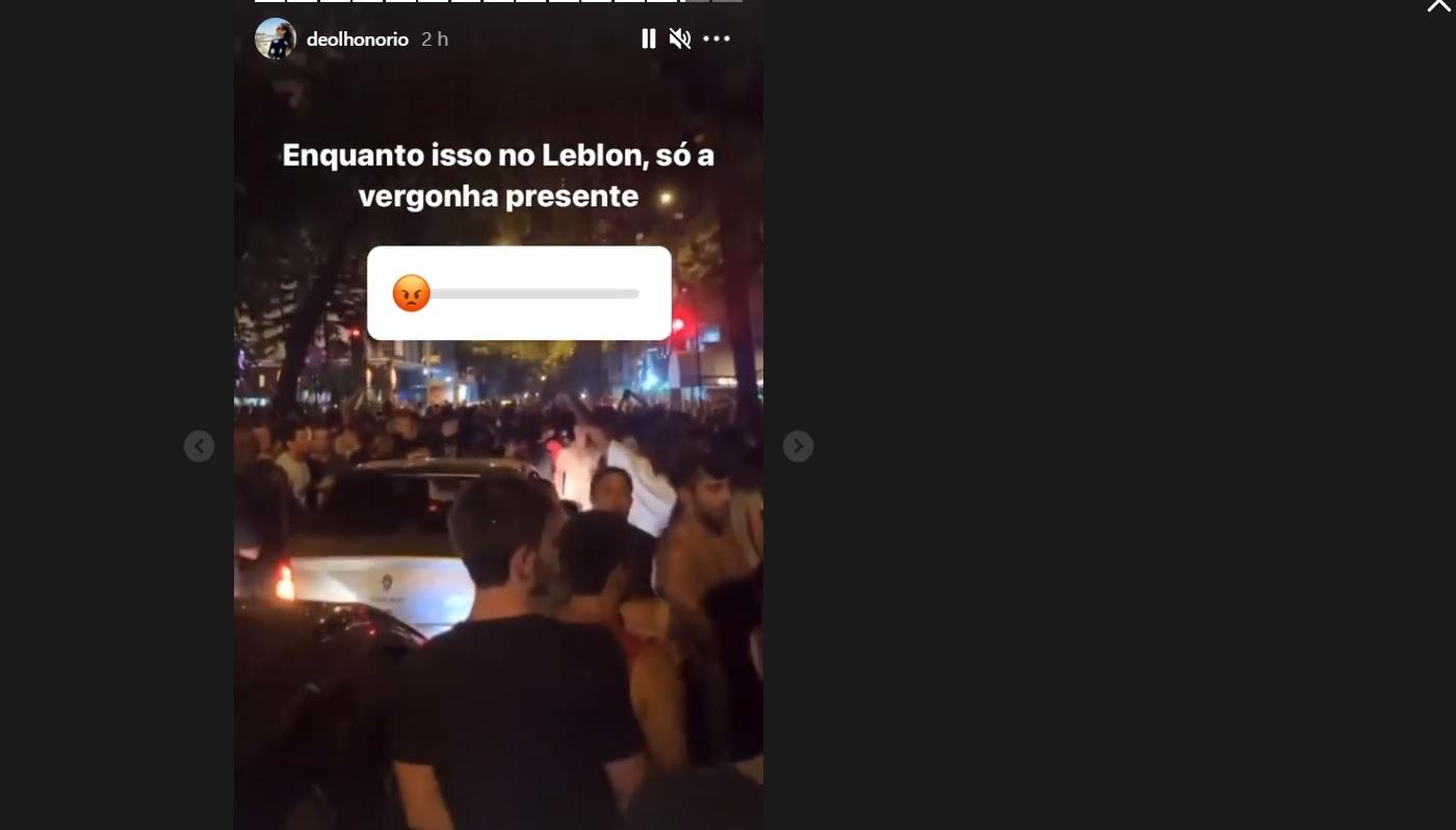 multidão leblon