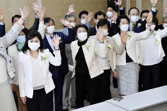 Deputadas japonesas