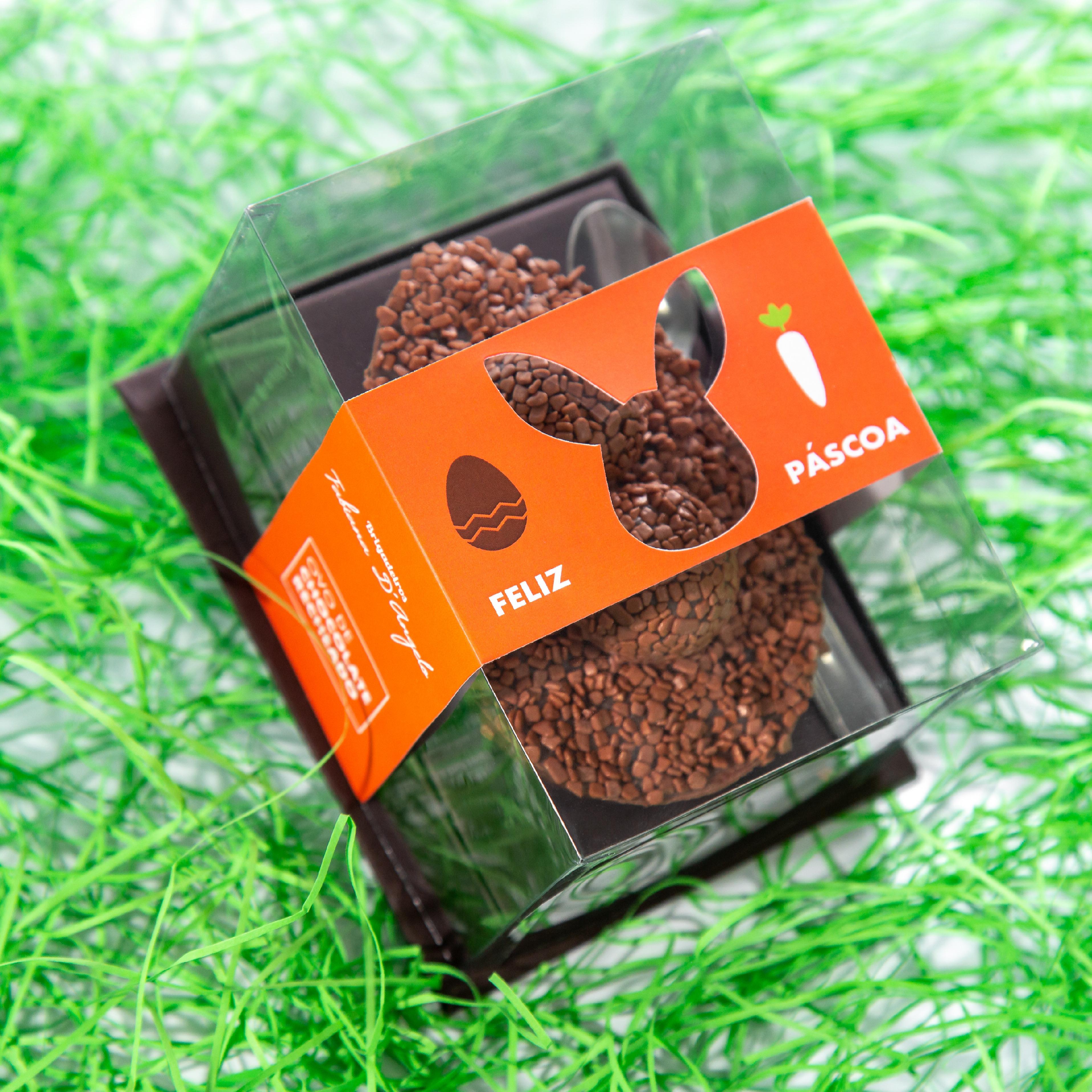 Brigadeiros Fabiana D'Angelo: ovo com recheio do doce e chocolate em dose tripla
