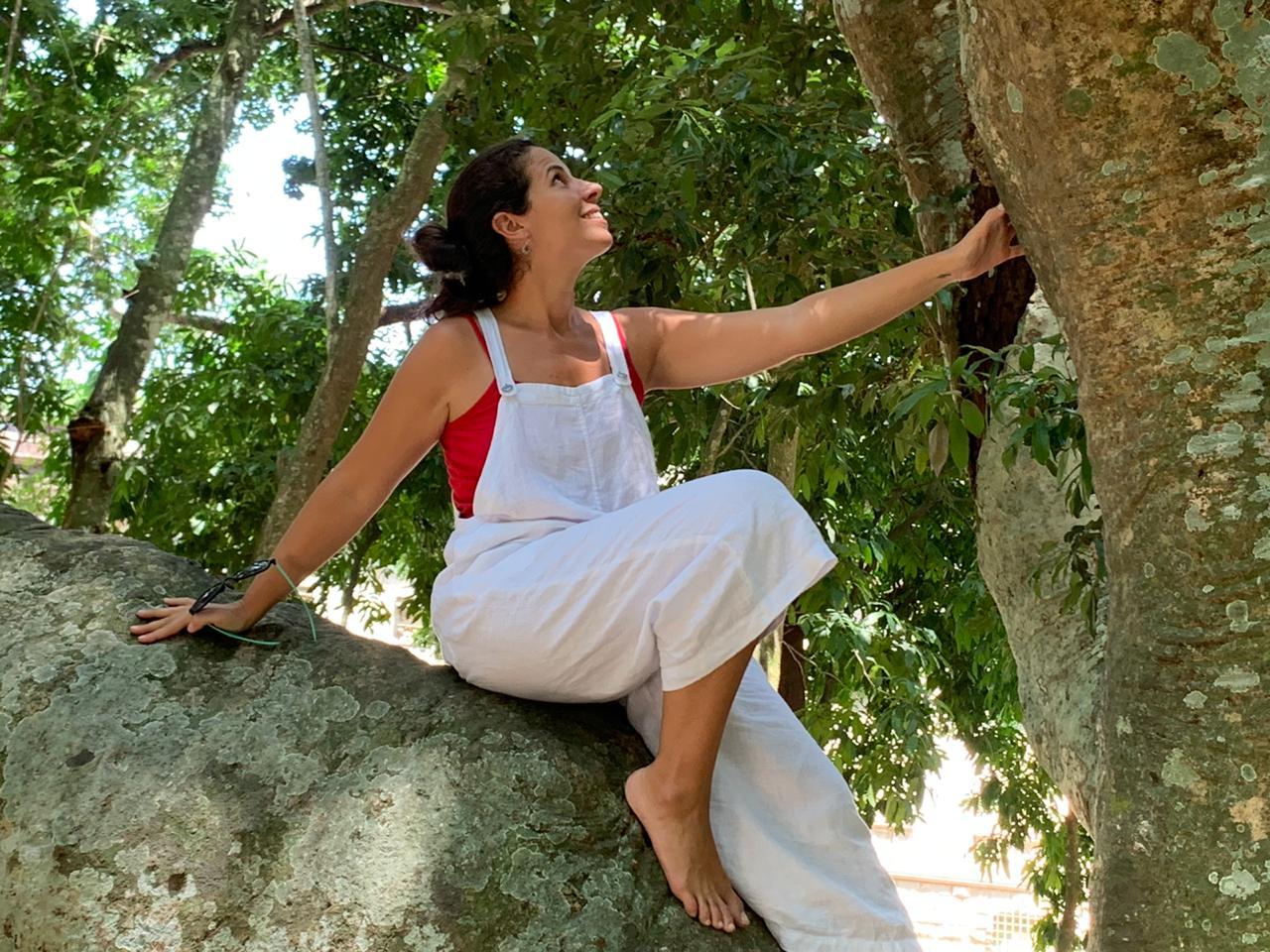 Carla Zorzanelli, terapeuta florestal