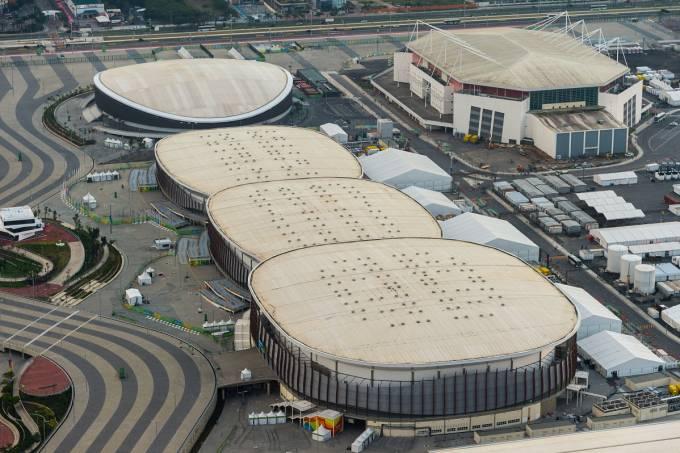 05/09/2016. Parque Olímpico-Conclusão. Jogos Paralímpicos. Ae