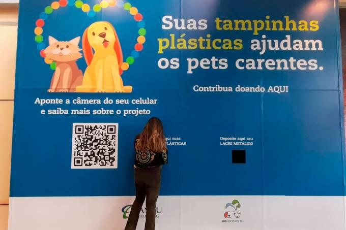 Bangu Shopping – Campanha Rio Eco Pets – arrecadação de tampinhas e lacres (1)