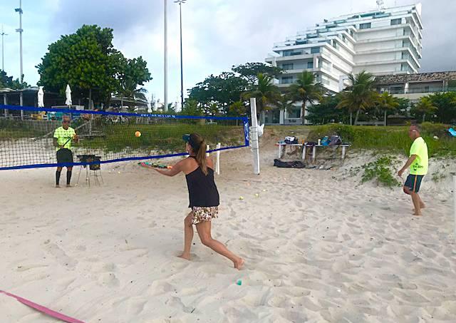 Beach tênis 1 – Carauta