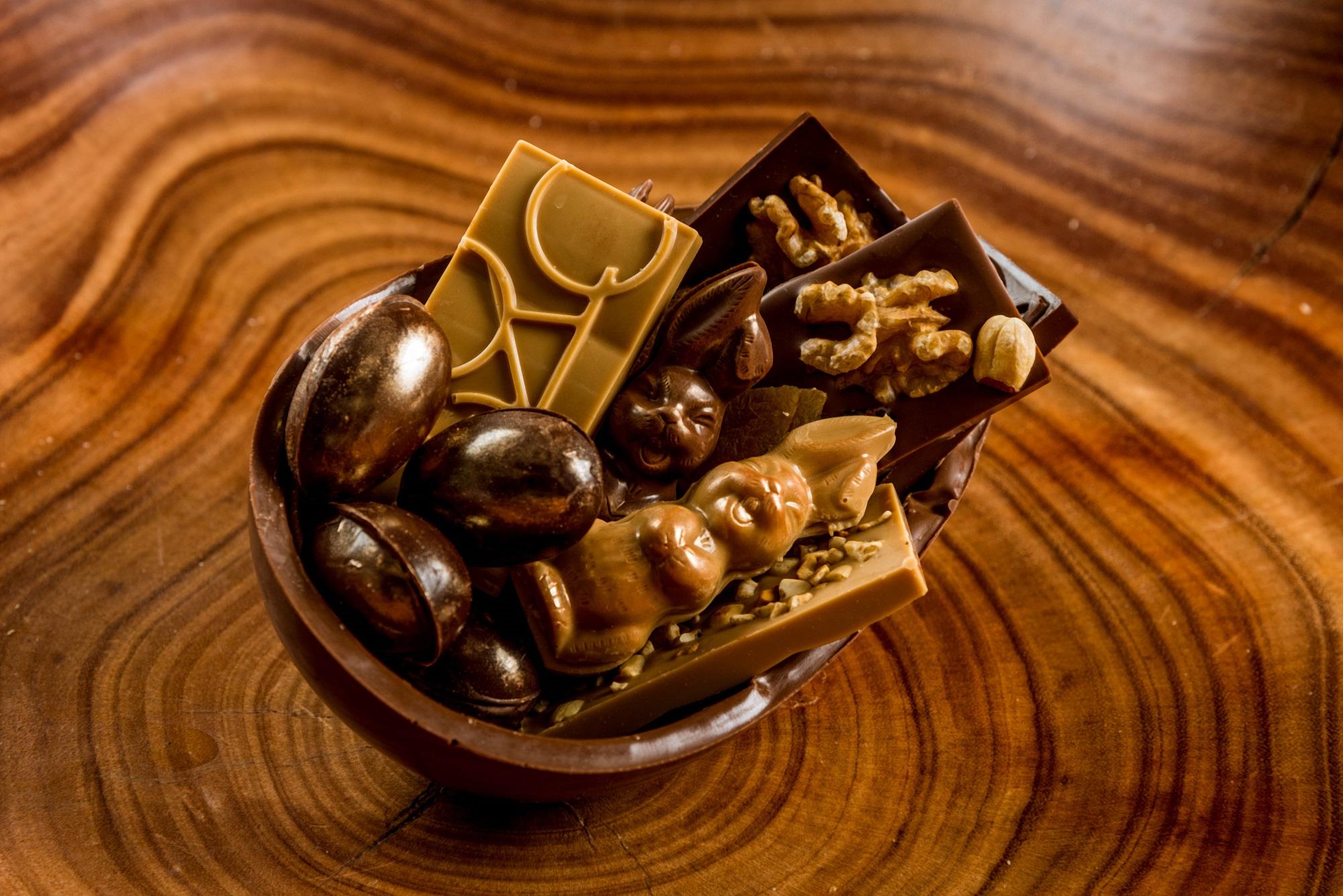Empório Farinha Pura: ovo de chocolate belga
