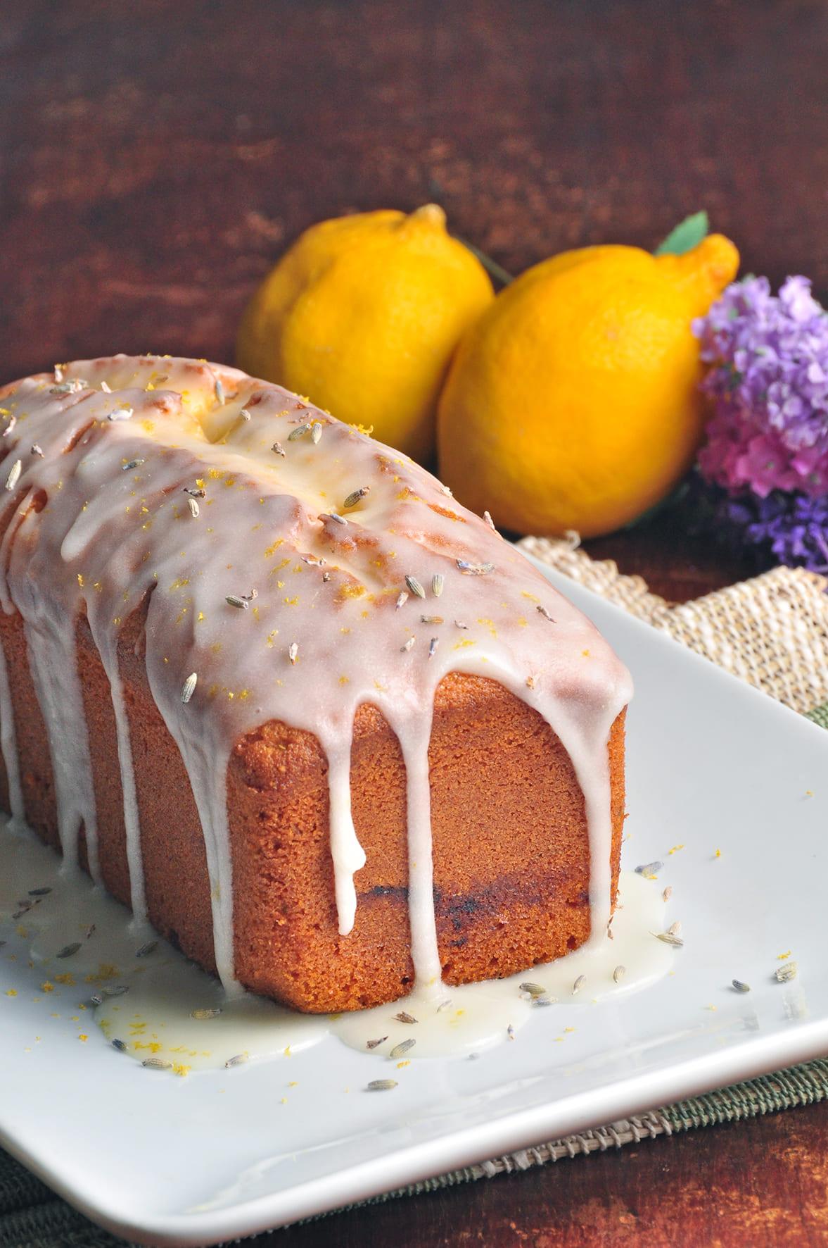 Artesanos Bakery: bolo de lavanda com limão-siciliano