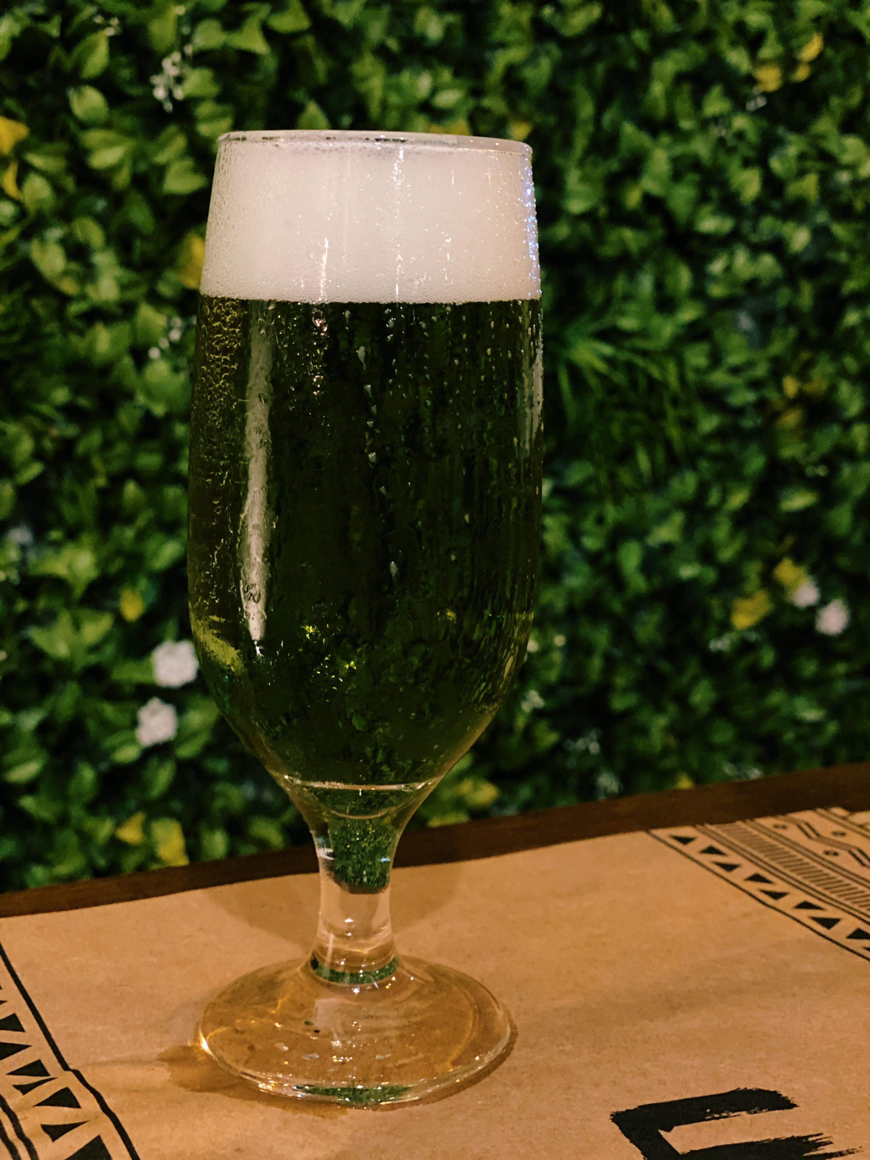 Urukum: drinque verde
