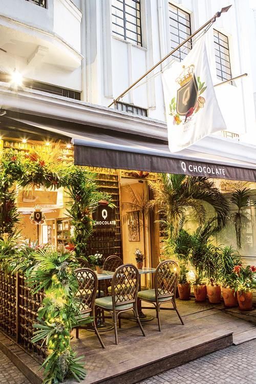 A loja da Q Chocolate, em Ipanema: marca pioneira no Rio