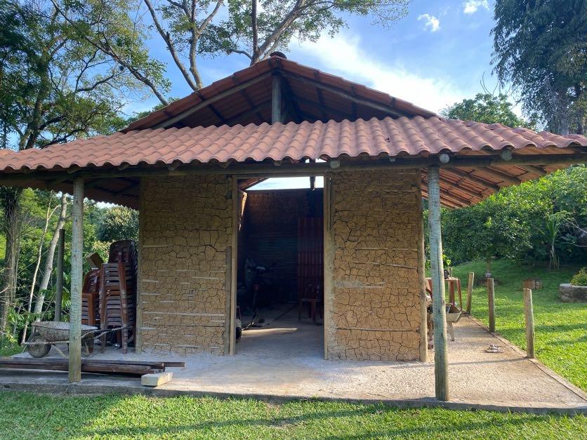 O Museu Cafundá Astrogilda em construção.