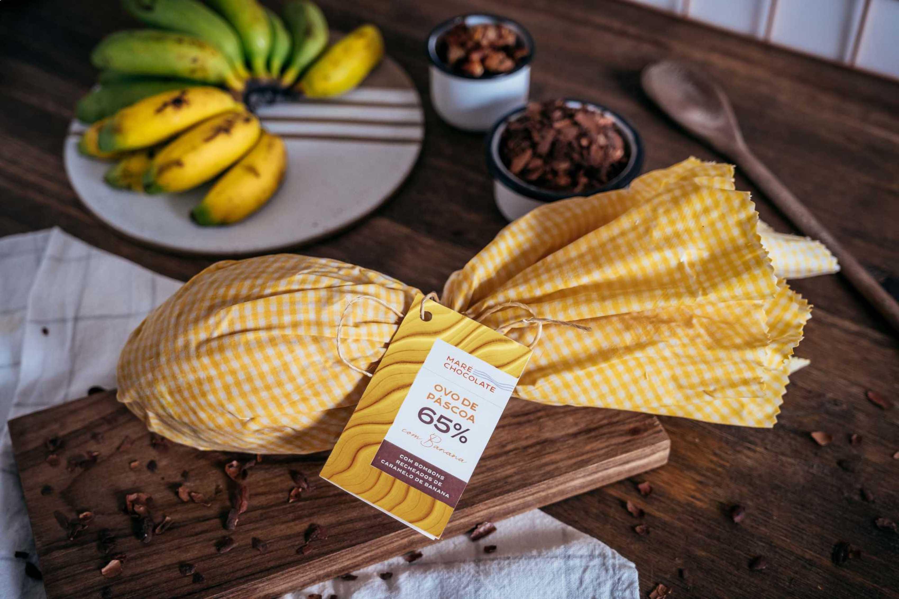 Maré Chocolate: ovo com banana-passa
